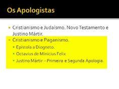 História da Igreja 04/56 - Os Apologistas