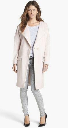 Tildon Lofty Wool Coat   Nordstrom