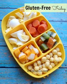 Gluten-Free Lunch ideas for kids