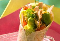 Wrap au pouletVoir la recette du Wrap au poulet >>