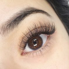 How can you determine what lash length is flattering for your eye shape? How can you determine what lash length is flattering for your eye shape? Natural Fake Eyelashes, Beautiful Eyelashes, Fake Lashes, Mink Eyelashes, Vaseline Eyelashes, Eyelashes Makeup, Makeup Eyes, Eyelash Serum Best, Hair And Beauty