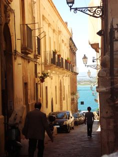 """Siracusa, Sicily  I still get """"homesick"""" for a place I was lucky enough to call home for 3 years."""