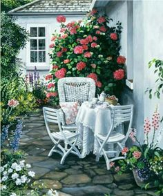'Afternoon Tea' Susan Rios - love her work