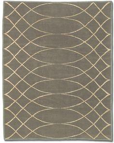 Tufenkian Carpets - ARCHING LATTICE SMOKEY TOPAZ