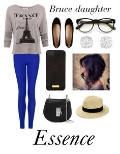 Bruce daughter:essence by liltwinki on Polyvore featuring polyvore, fashion, style, Pull&Bear, MANGO, Tod's, Chloé, Henri Bendel and Wildfox