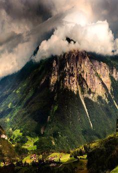 ✯ Mountain Storm  - The Alps, Switzerland