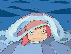 Ponyo <3 One of the most touching movies
