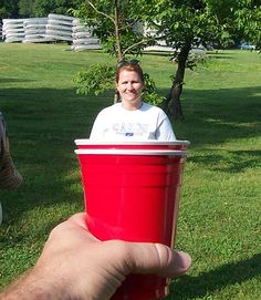 Forced Perspective Photography - Drink you Up