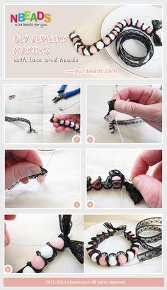 http://oksanalikesit.blogspot.com/2012/04/diy-lace-and-bead-bracelet.html