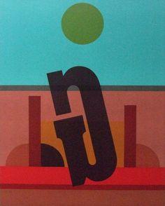 Nach der Zerstörung. Lino / typografie Josua Reichert