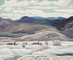 Franklin Carmichael Paintings Gallery in Alphabetical Order