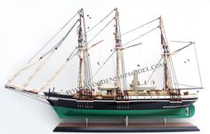 Model Ship Endurance ready for display