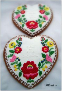 hungarian gingerbread heart