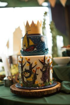 Where the Wild Things Are Party Cake Custom Birthday Cake Cake by Baked. West Seattle, Wa