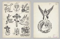 hockeyteeth:    Russian criminal tattoo flash by Danzig Baldaev. He was a prison guard from 1948-1986 & documented all the tattoos saw over the years.