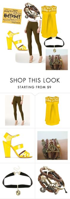 """""""house pride"""" by tluebke ❤ liked on Polyvore featuring ECI, Laurence Dacade, Warner Bros., Traits and plus size clothing"""