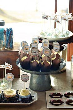 Party Cupcakes via Sweetapolita