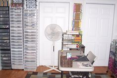 Scrapbooking   Paper Storage Towers.......  Keeps paper dust free and wont fade....