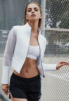Sport Fashion, Fitness Fashion, Fashion Models, Womens Fashion, Elite Model, Marina Laswick, Canadian Models, Fitness Photoshoot, Le Jolie