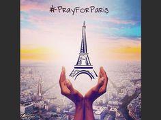 """EN IMAGES. """"Pray for Paris"""" : les hommages après les attentats sur les réseaux sociaux - L'Obs Pray For Paris, French History, Images, Tower, World, Building, Travel, Random, Instagram"""