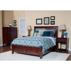 Verona 4 Piece Queen Storage Bedroom Set $2199