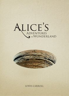This is an example of constraint visual language book cover, in this design, the designer use a hole simplify and communicate the concept of Alice's adventures, the designer subtract and develop the idea by using a hole, and make it meaningful. Also the colour tone of this designer is really good, and a interest thing that draws viewer's attention this the hole is created by a stack of paper.