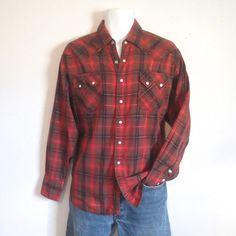 Vintage PanHandle Slim Western Shirt by Westmoor by delilahsdeluxe Western  Shirts 99cf820ba30c5