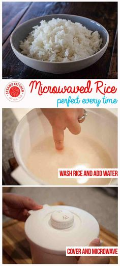 How to cook rice in the microwave with an Ancient Chinese Secret | steamykitchen.com ~ https://steamykitchen.com
