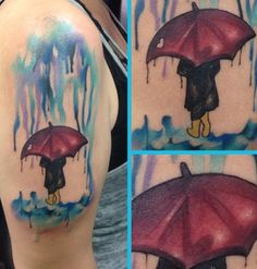 My water color tattoo. I finally got it!