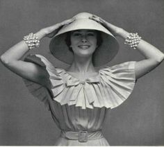 1959 - Yves Saint Laurent. for Christian Dior