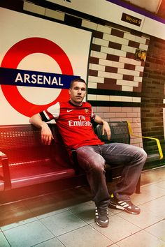 Lukas Podolski. I wouldn't mind bumping into him on the London Underground.