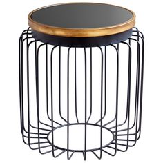 The rounded shape of our Mad Hatter Side Table pairs beautifully with your raw, edgy accessories. Mix materials to your heart's content since the neutral palette suits just about anything!