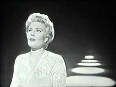 Patti Page, The Man That Got Away, Big Record, 1958 TV Show