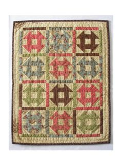 Prairie Queen Quilt - Reproduction fabrics, traditional style quilt