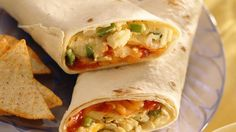 Have breakfast ready in just 20 minutes! Filled with scrambled eggs, cheese and…