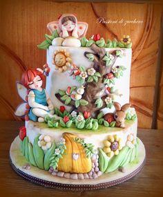 il giardino delle fate - Cake by passioni di zucchero