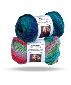 Boutique Unforgettable great color combos for acrylic yarn