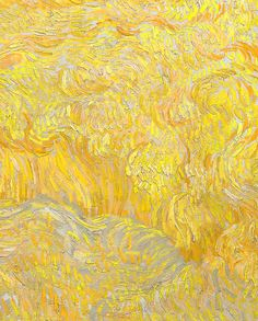 Vincent Van Gogh; detail of Wheatfield With a Reaper.