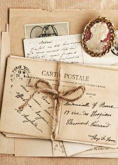 Feelings write a carte postale letter postcard smell love Pocket Letter, Old Letters, Handwritten Letters, Old Love, Vintage Lettering, Lost Art, Penmanship, Letter Writing, Hand Writing
