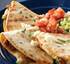 Nothing says Mexican flavour more than these chorizo quesadillas.