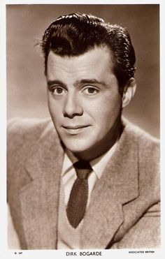 https://flic.kr/p/xMtRkp | Dirk Bogarde | British postcard in the Picturegoer Series, London, no. D 547. Photo: Associated British.  Distinguished British actor and novelist Sir Dirk Bogarde (1921-1999) was Britain's number one box office draw of the 1950's, gaining the title of 'The Matinee Idol of the Odeon'.