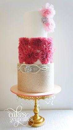 Vintage Glam Cake