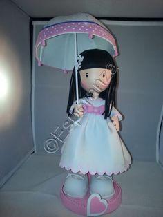 Muñeca tipo gorjuss