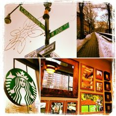 Manhattan Valley – Starbucks and the City Central Park, Manhattan, Starbucks, The 100, Nyc, City, New York, City Drawing, Cities