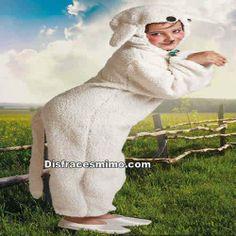DisfracesMimo, disfraz oveja infantil para niño y niña,con este bonito y suave disfraz de oveja infantil,es ideal para tus fiestas escolares y fiestas tematicas de animalitos.