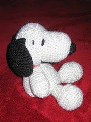 Snoopy crochet pattern