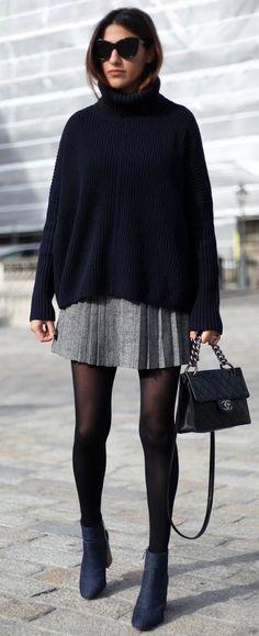 over-sıze sweater nasıl giyilir