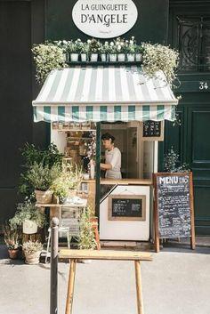Cafe Shop Design, Small Cafe Design, Kiosk Design, Cafe Interior Design, Store Design, Signage Design, Design Design, Graphic Design, Deco Restaurant