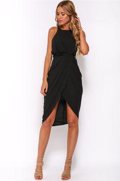 HelloMolly | Call Me All Night Dress Black