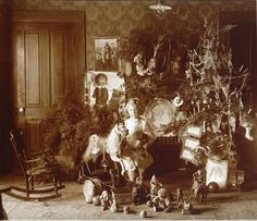 Christmas, Harney County, Oregon, 1900 vintage everyday: Lovely Vintage Photos Show How Children Celebrated Christmas More Than 100 Years Ago